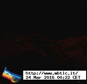 Courmayeur webcam view Grandes Jorasses